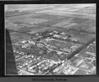 Aerial view of campus, North Dakota Agricultural College