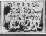 First Football Team, North Dakota Agricultural College