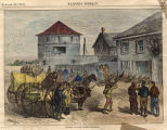 Traders at Fort Garry, Manitoba