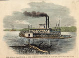 Rosebud steamboat on the Missouri River