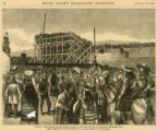 Dakota, the laying of the corner-stone of the new capitol at Bismarck, September 5th