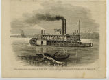 Dakota Territory, the new Indian campaign, the Steamer 'Rosebud' transporting General Miles'...