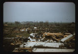 Tornado devastation in Golden Ridge neighborhood, Fargo, N.D.