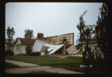 Wrecked home at 1249 12th Street N., Fargo N.D. tornado