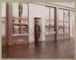 Old Settlers Grocery in 1897 Fargo flood