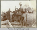 Miron threshing machine, Cavalier, N.D.