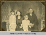 Elmer E. Barry family portrait