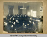 Courtroom during murder trial, Pembina N.D.
