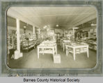 Interior of general store, Oriska, N.D.