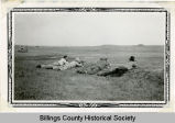 Prairie dog hunting, Billings County, N.D.