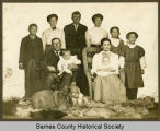 Harvey and Bertha Harrison family portrait