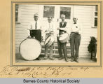 Remenants of the 1883 Valley City Drum Corps, Valley City, N.D.