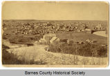 Bird's eye view of the Russell-Miller Mill and Valley City, N.D.
