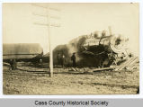 Steam engine derailed east of Casselton, N.D.