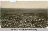 Aerial view of Valley City, N.D.