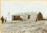 Sod house, Walsh County, N.D.