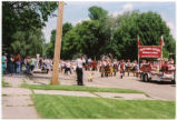 Parade during Museum Alive in Minto, N.D.