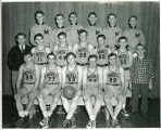 Model High basketball team, Dickinson, N.D.