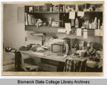 Girls dorm room, Werner Hall, Bismarck Junior College, Bismarck, N.D.