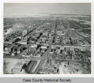 Aerial view of Fargo, N.D.