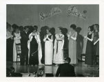 Crowning of Frost Festival Queen, Bismarck, N.D.