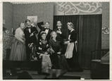 Cast of Curse You Jack Dalton, Bismarck Junior College, Bismarck, N.D.