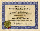 Association of Community College Trustees certificate