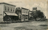Street view of Wyndmere, N.D.