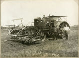 Steam engine and McCormick Binder