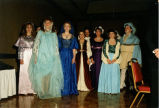 Students perform at Madrigal Dinner, Bismarck, N.D.