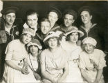 Cast of The Nautical Knot, State Normal School, Valley City, N.D.