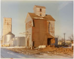 Tearing down the Hensel Elevator, Hensel, N.D.