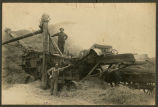 E. E. Barry's threshing rig, rural Pembina, N.D.