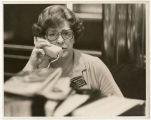Alice A. Olson Byron in the House Chamber, Bismarck, N.D.