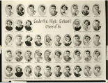 Enderlin High School Class of 1954 photo composite