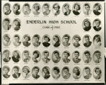 Enderlin High School Class of 1953 photo composite