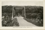 Fishtrap Bridge and Pembina Mountain, Walhalla, N.D.