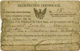 Thorvald Lunde registration certificate