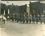 Soldiers returning to Enderlin after World War I, Enderlin, N.D.