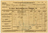 Great Northern Railway Company waybill