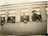 Men leaving for World War I, Cavalier, N.D.