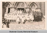 First Communion Class, St. James Catholic Church, Jamestown N.D.