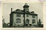 Public School in Davenport, N.D.