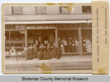 Ben Orlady Store and clerks, Jamestown, N.D.