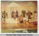 Scene from Bismarck Junior College performance of The King and I, Bismarck, N.D.
