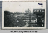 Unidentified train wreck, McLean County, N.D.