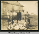 Roe School, McLean County, N.D.