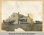 Bert Orange home and farm, Spiritwood, N.D.