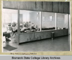 Interior of general purpose building of Bismarck Junior College, Bismarck, N.D.