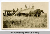 Grain harvest, McLean County, N.D.